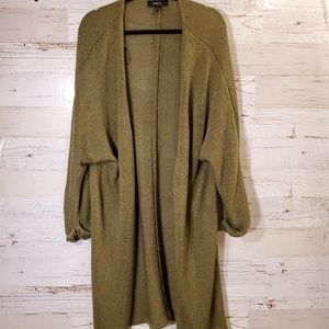 Forever 21 long sweater cardigan